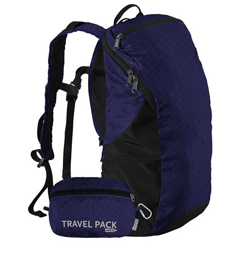 light-weight daypack travel blog