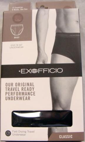 Exofficio underwear travel blog