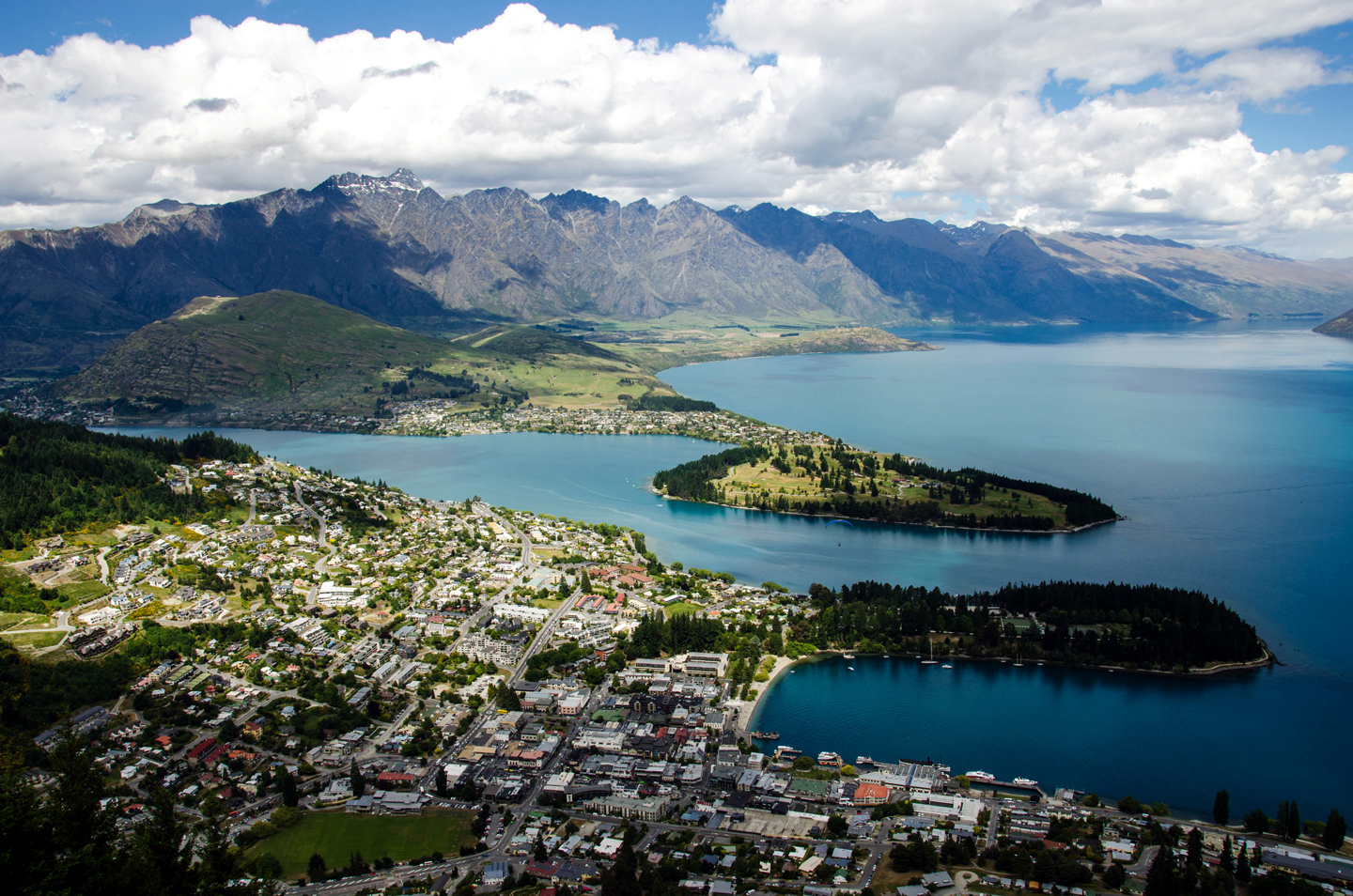 Queenstown, New Zealand, is the adventure capital of the world.