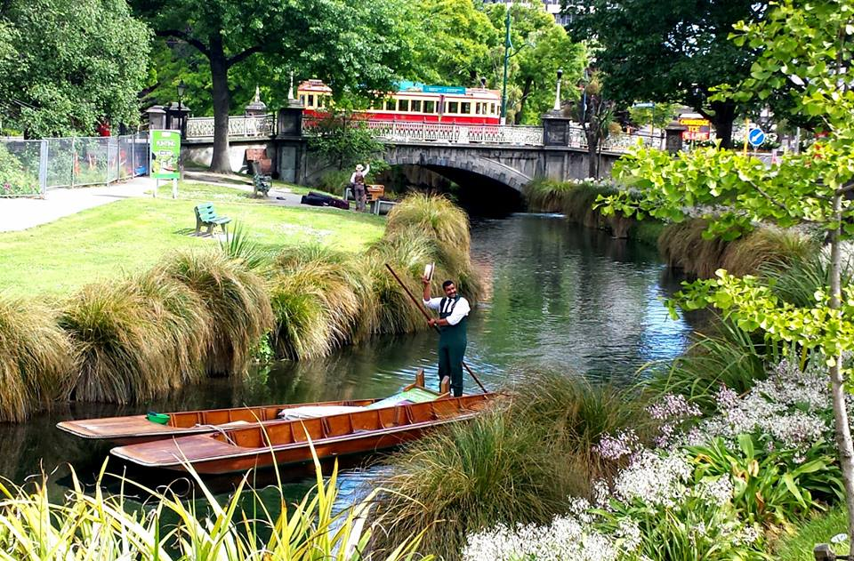 Hagley Park is the largest park in Christchurch, New Zealand.