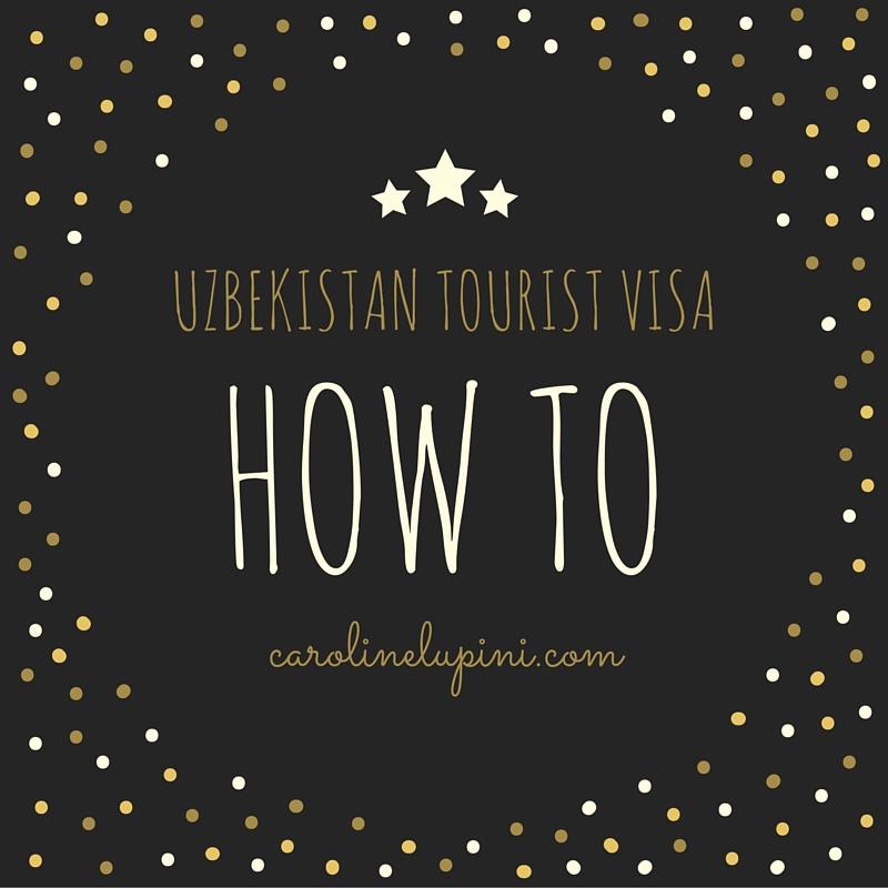 Uzbekistan tourist visa